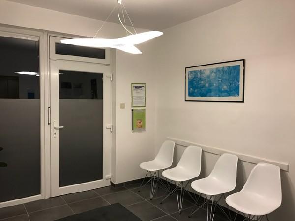 Boncelles 3<br /> Salle d&#039;attente du cabinet.